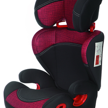 Play Safe Two Plus car seat, group 2/3 (from 15 to 36 kg) without isofix, adaptive head, red color