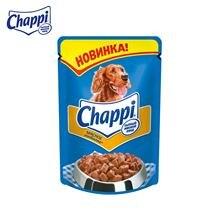 """Влажный корм для собак Chappi """"Сытный мясной обед"""", Мяс"""