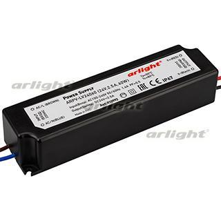 010992 Power Supply ARPV-LV24060 (24 V, 2.5A, 60W [IP67 Plastic 2] Box-1 Pcs ARLIGHT-Блок Power Supply/AC/DC Source ^ 20