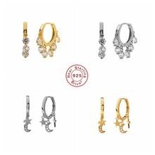 Boucles d'oreilles de luxe en argent Sterling 925, bijoux fins pour Couples amoureux, fiançailles, fête