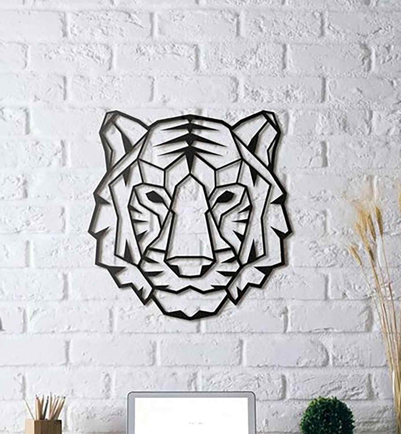 Tiger Chinese Symbol Wall Art Nature