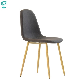 95710 Barneo S-12 fabric Kitchen Chair Interior Stool Bar Chair Kitchen Furniture dark brown fabric free shipping in Russia