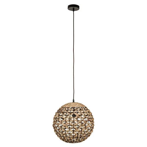 Ceiling Light Wicker (40 X 40 X 37 Cm)