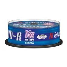 DVD-R Verbatim 43522 16x25 шт