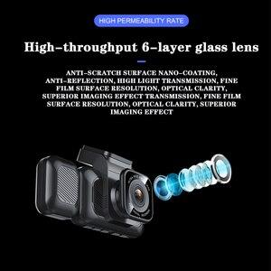 Image 5 - オリジナルAiba A12 1296P HDダッシュカムビルトインWIFI 170ワイドカーカメラwith WDRナイトビジョンカーDVR 24Hパーキングモニターダッシュカム ドライブレコーダー