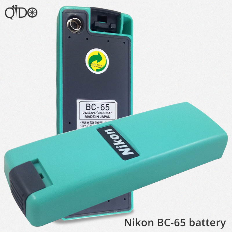 New BC-65 battery for Nikon total station battery 7.2V/ 3800mAh