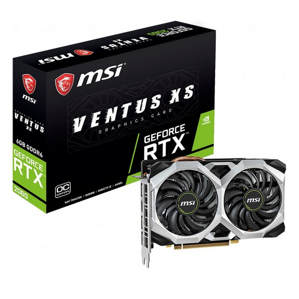 Gaming Graphics Card MSI RTX 2060 Ventus XS 6 GB GDDR6