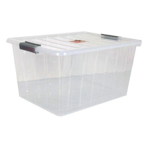 Ev ve Bahçe'ten Katlanabilir Depolama Çantaları'de Depolama kapaklı kutu 50 L title=