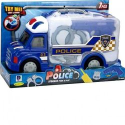 TRUCK BRIEFCASE POLICE LIGHT And SOUNDS JUGATOYS