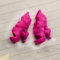 Shoes for dolls Ever After High and Monster High pink shoes