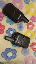 The walkie-talkies are excellent, compact, charge from power banks, common batteries from