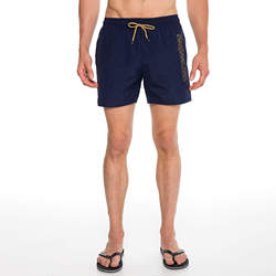 Routefield Volt Navy Mens Board Shorts Swimwear Swimming Beach Short Surf Pants Swimsuits Boardshorts
