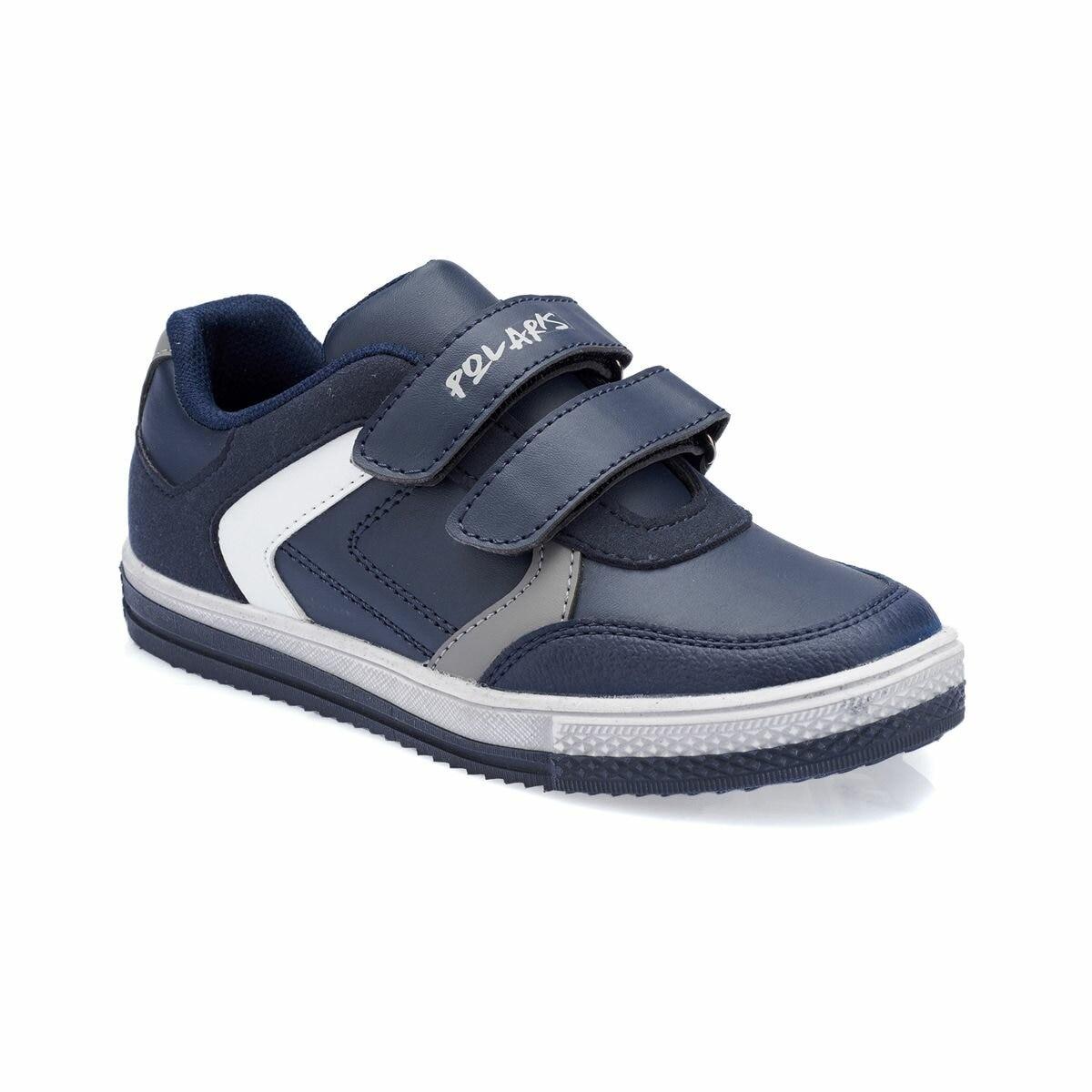 FLO 82.510605.F Navy Blue Male Child Shoes Polaris Sneakers     - title=
