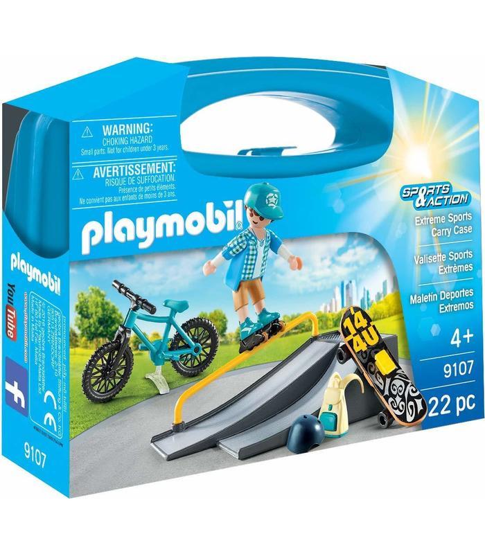 Playmobil 9107 Maletin Extreme Sports Toy Store
