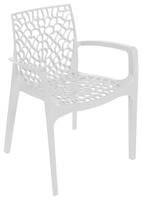 Armchair WHIM, Polypropylene White *