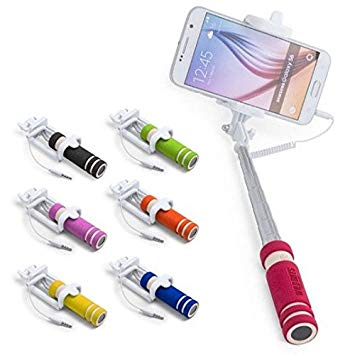 Mini Selfie Stick Folding With Self Timer-Details And Gifts For Weddings, Christening Suits, Communions, Birthday And Holiday.