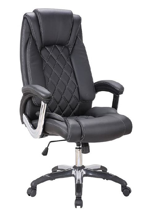 Office Armchair CANNES, High, Gas, Tilt, Similpiel Black
