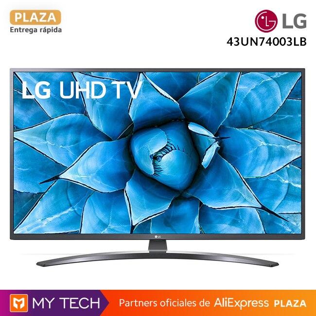 """Televisión LG UN74003LB, 43"""" 43UN74003LB y 55"""" 55UN74003LB, Smart UHD TV original, envío desde España, Plaza, 2 años de garantía"""