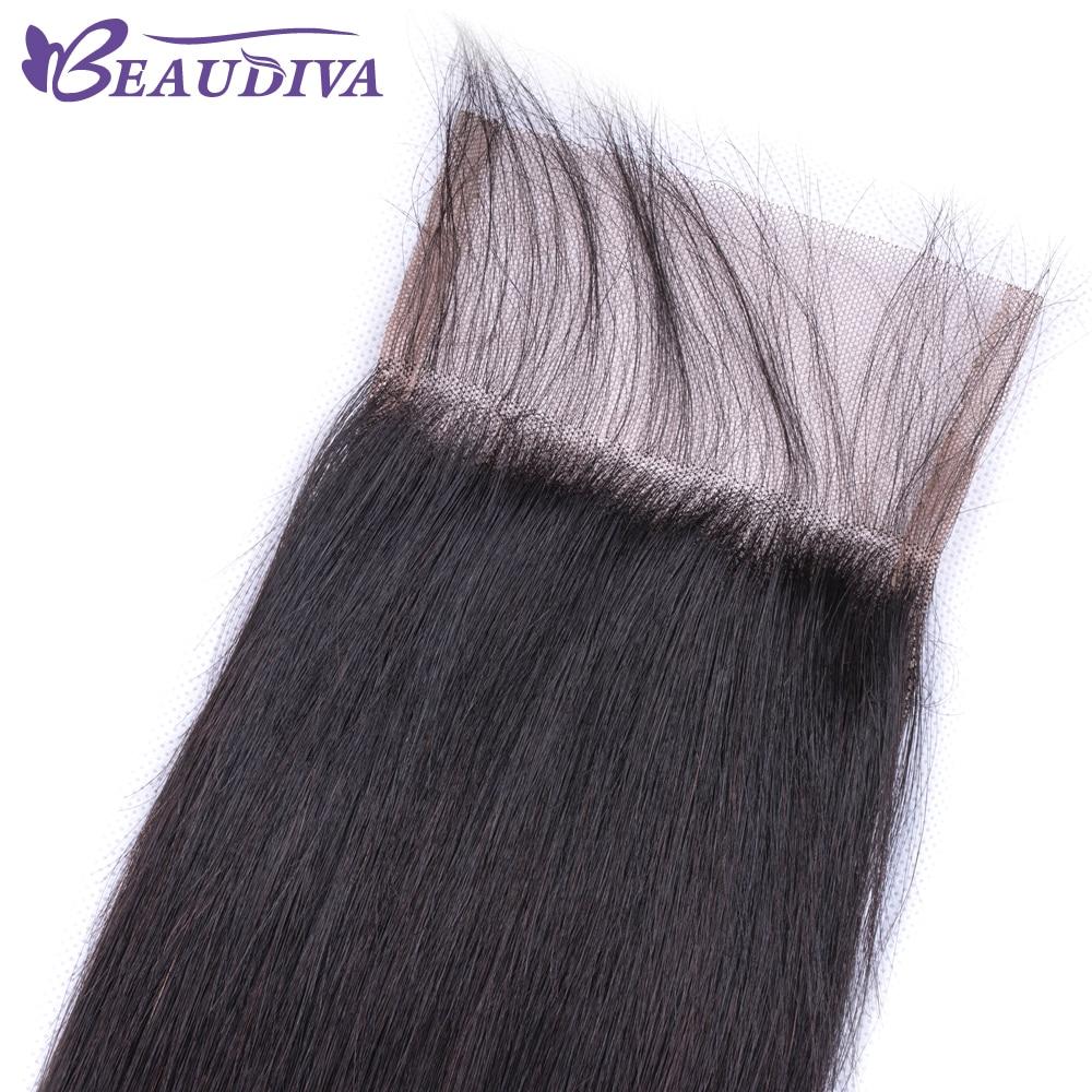 U3e7d19112a6648fd8ec030fe68c65326R Beaudiva Hair Extension 100% Human Hair Bundles With Closure Brazilian Hair Weave 3 Bundles Straight Bundles With Lace Closure