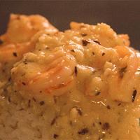 蒜香黄油虾盖饭的做法图解6