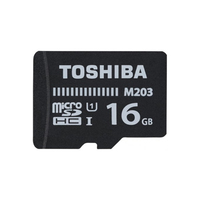 Cartão micro sd toshiba THN-M203K0160EA 16 gb