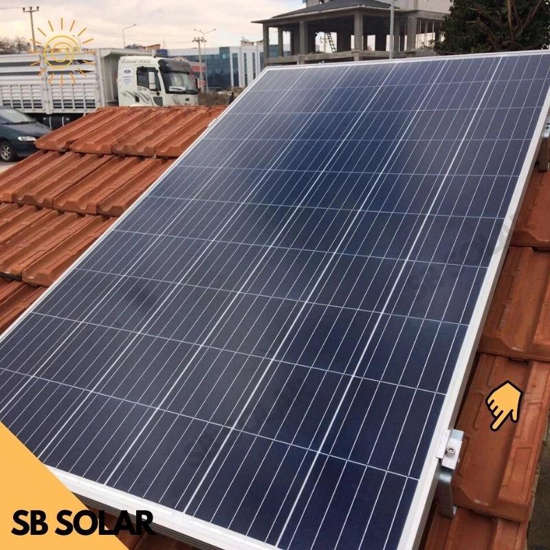 solar pv panel mounting bracket for tile roof