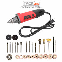 TACKLIFE EU 500W Variable Speed Mini Electric Drill Grinding Machine Grinder Set Dremel Rotary Tool with Engraving Accessories