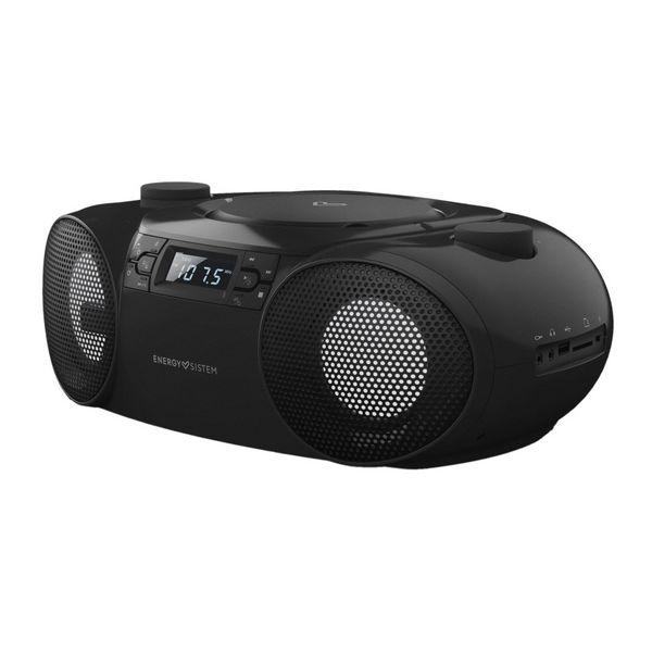 Радио CD Bluetooth MP3 Energy Sistem Boombox 6 12W черный