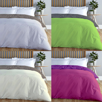 ADP Home-stand case from Comforter, Duvet cover Bi-Color, Quality 144 x strand, 12 Combinations, bedding single