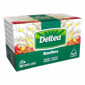Rooibos infusion 20 individual bags Deltea