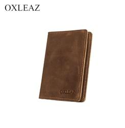 Abdeckung auf die passport echtem leder Dioulaorentou OX018