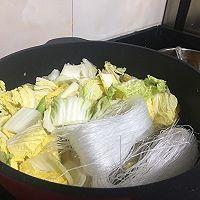 猪肉白菜炖粉丝,马克西姆不粘锅的做法图解4