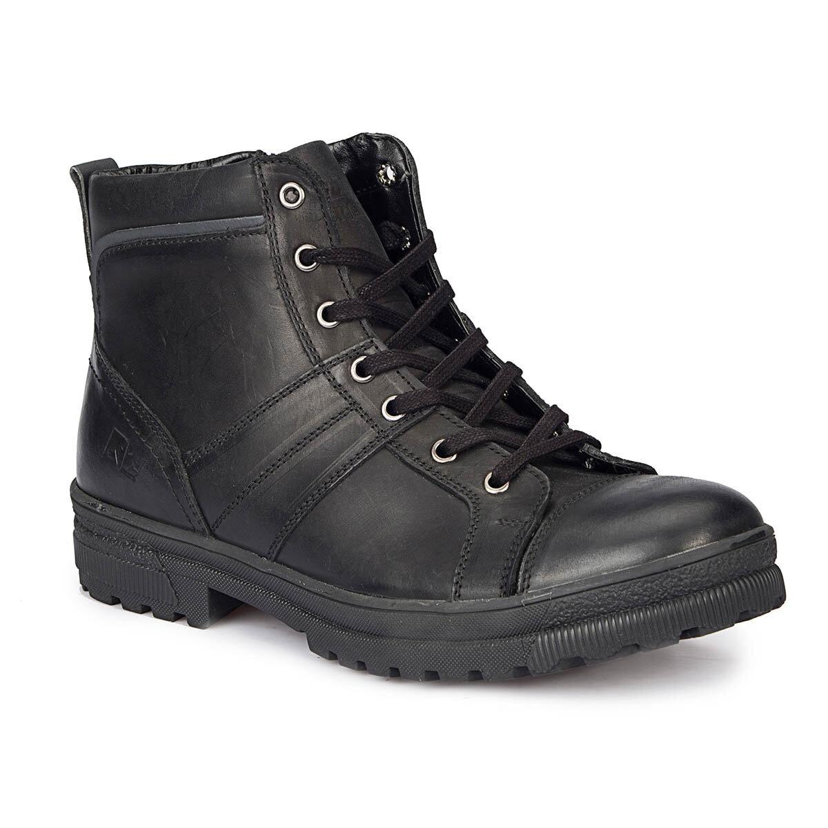 FLO KAPPA HI Black Men Boots LUMBERJACK