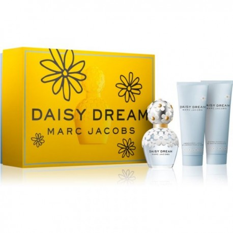 MARC JACOBS DREAM DAISY EDT SPRAY 50ML + BODY LOTION 75ML + SHOWER GEL 75ML