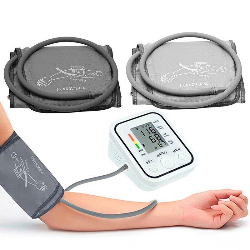 Большая манжета для взрослых, прибор для измерения артериального давления, 22-32 см, многоразовый автоматический прибор для измерения артери...