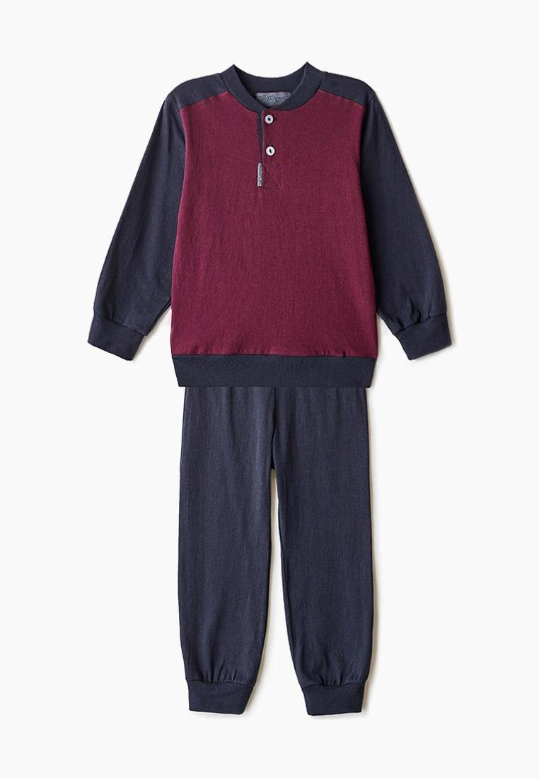 Пижама RobyKris, арт. 40 02 20, бордо синий|Комплекты пижам| | АлиЭкспресс
