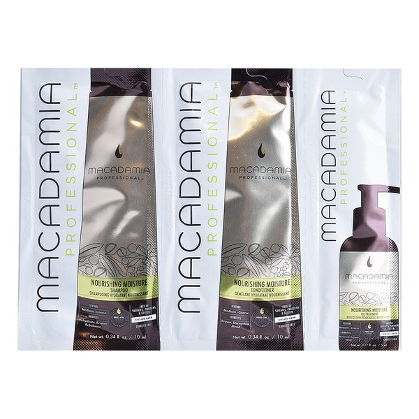 Women's Hair Dressing Set Nourishing Moisture Trio Macadamia (3 Pcs)