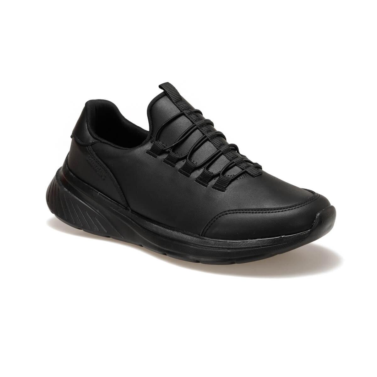 FLO PLAZO PU 9PR Black Men 'S Comfort Shoes KINETIX