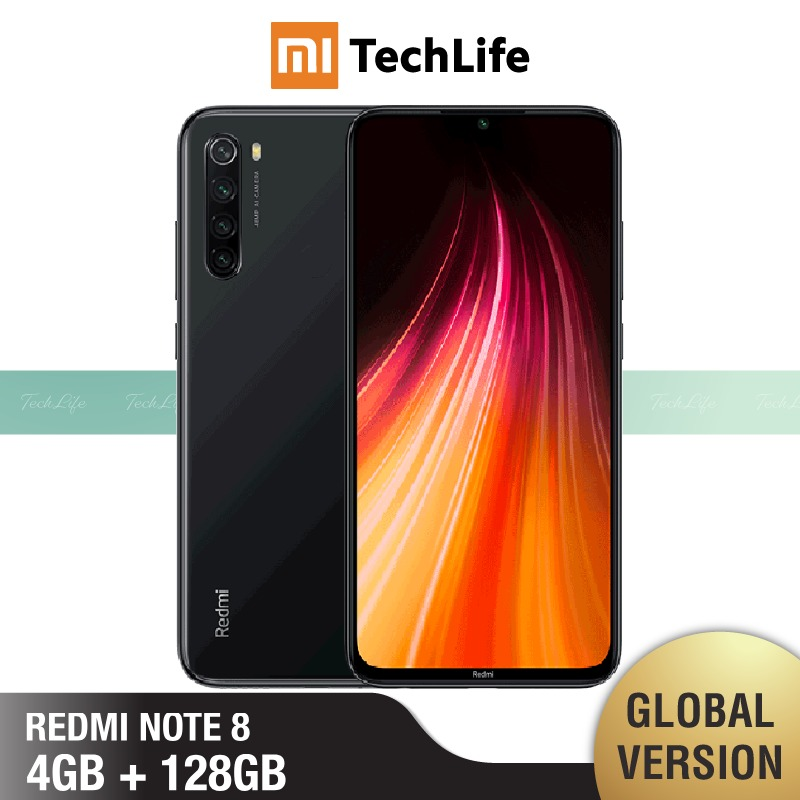 Xiaomi Redmi Note-8 128GB-ROM 4gbb Adaptive Fast Charge Octa Core Fingerprint Recognition