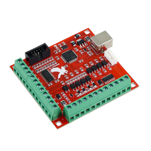 Image 2 - 1pcs CNC USB MACH3 100Khz Breakout Board 4 Axis Interface Driver Motion Controller CNC USB MACH3 100Khz Breakout Board 4 Axis In