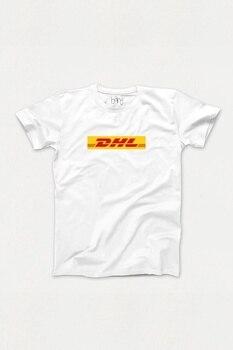 DHL tematyczne biały T-Shirt Unisex 445790657