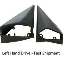 Mercedes Benz W124 W201 Exterior Mirror Rubber Gasket Seal Set (L + R) LEFT SIDE Drive (Left-Hand Drive)/Steering Wheel