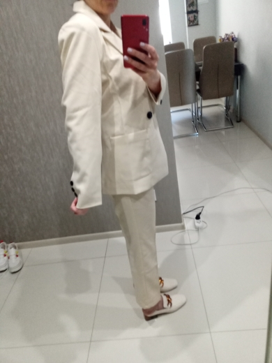 Suit casual suit female 2019 spring and autumn new Korean version was thin and small suit temperament small fragrance two-piece reviews №2 125165