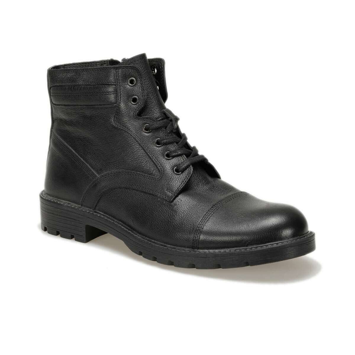 FLO 016 Black Men Boots Oxide
