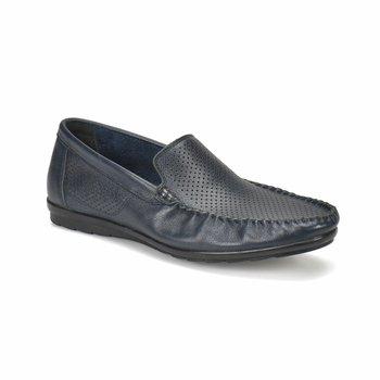 FLO 2251 granatowe buty męskie tlenek tanie i dobre opinie Oxide Sztuczna skóra