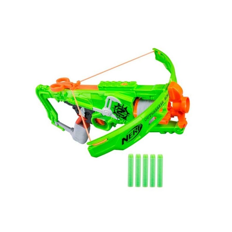 Crossbow Spear Throwers Nerf Zombie Outbreaker