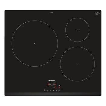 Индукционная плита Siemens AG EU631BJB2E 60 см черный (3 зоны для приготовления пищи)