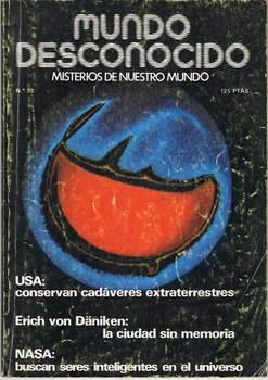 World magazine Unknown N ° 33. March 1979