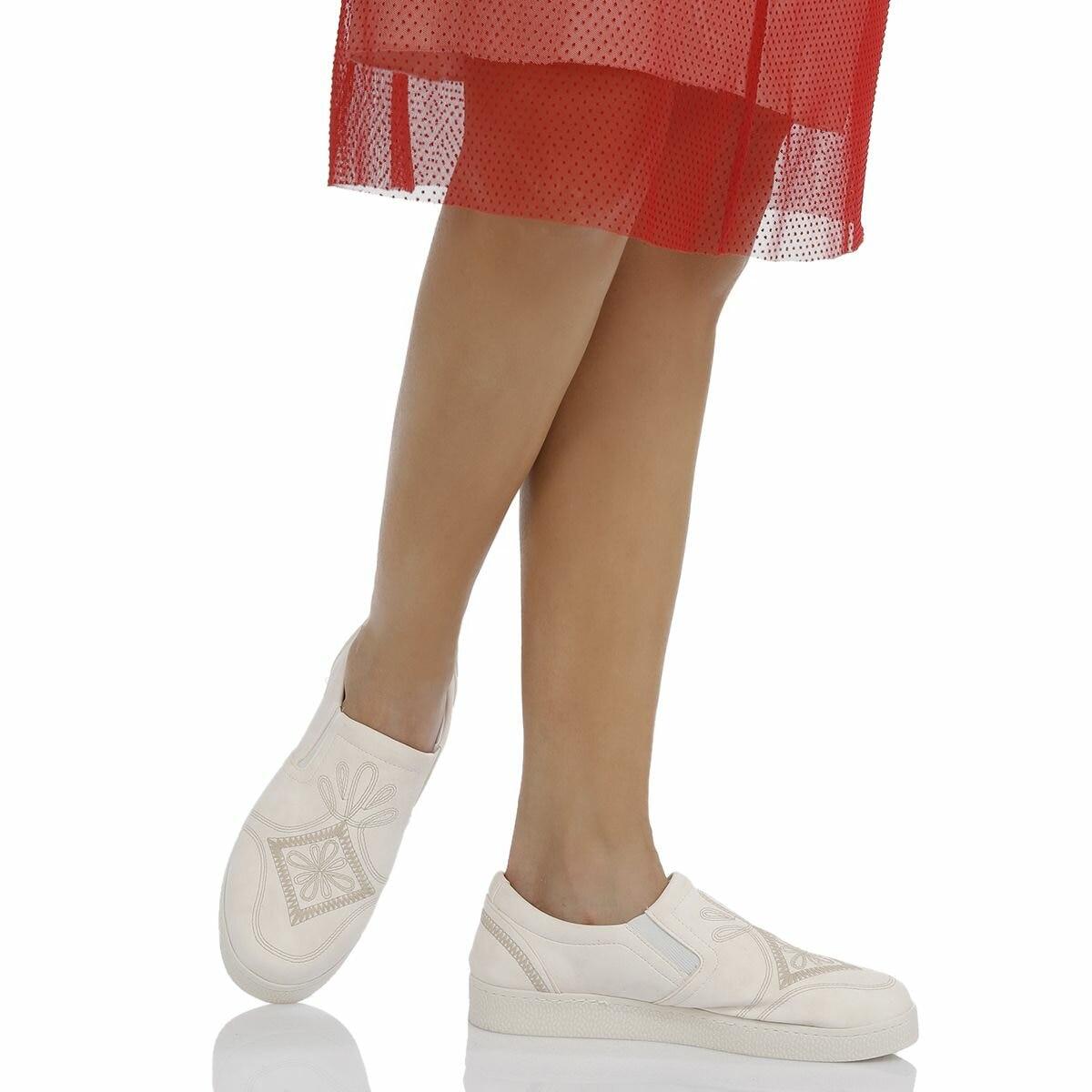 FLO 18S-003 White Women 'S Sports Shoes BUTIGO