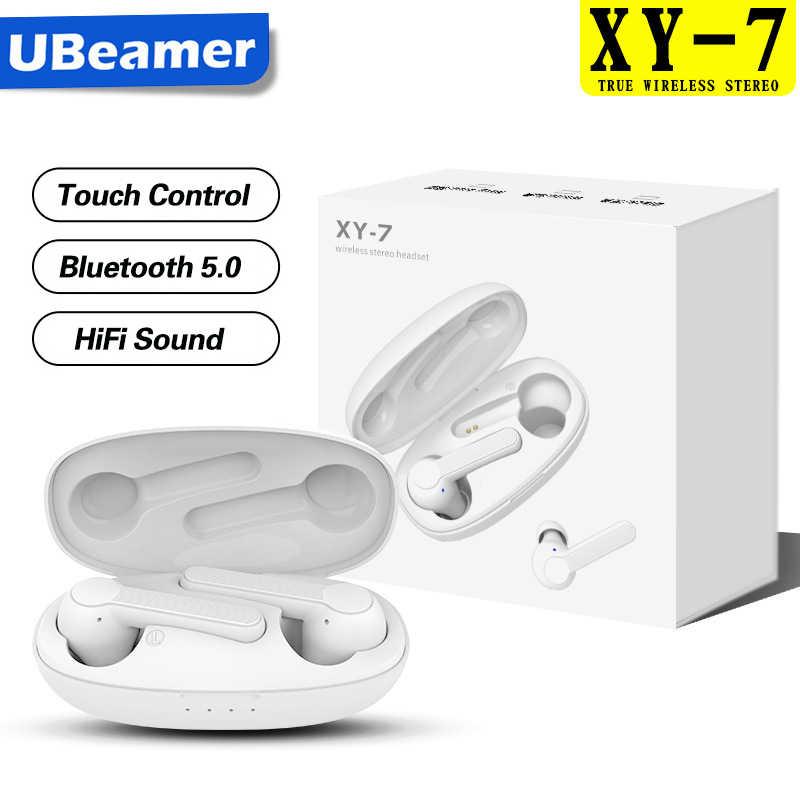 Ubeamer TWSหูฟังบลูทูธหูฟังไร้สาย наушники беспроводные Sport Earbudsชุดหูฟังไมโครโฟนสำหรับคอมพิวเตอร์